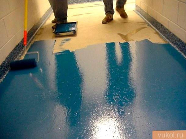 Чем выкрасить цементный пол