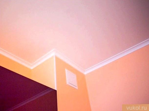 Чем выкрасить потолок в ванной