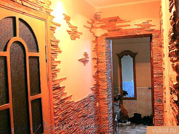 Декоративная отделка стенок