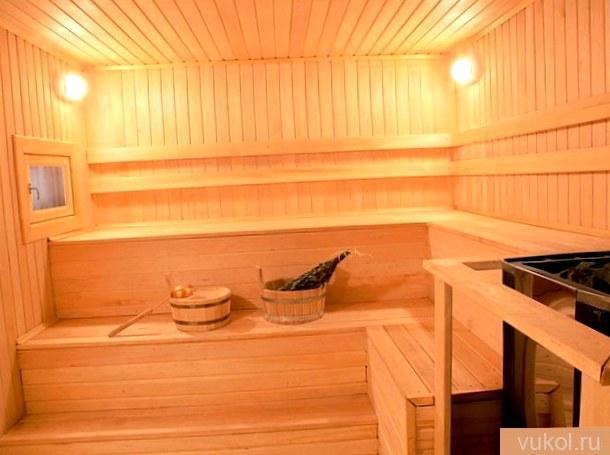 Дизайн и интерьер бани снутри