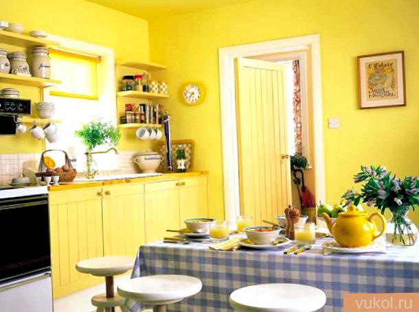Дизайн стенок на кухне