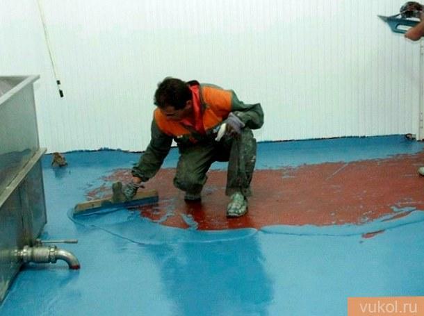 Гидроизоляция цементного пола