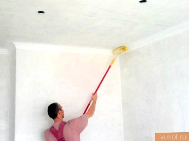 обновить ветхий потолок