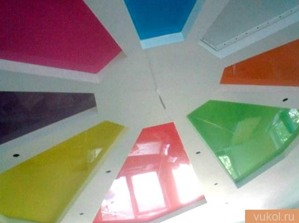 цвет для натяжного потолка