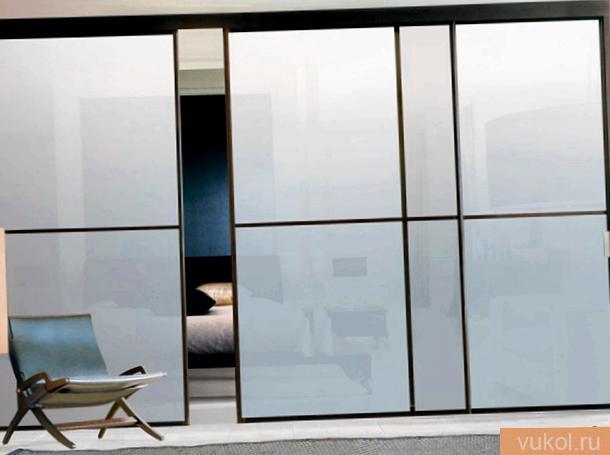 изготовка стеклянных дверей