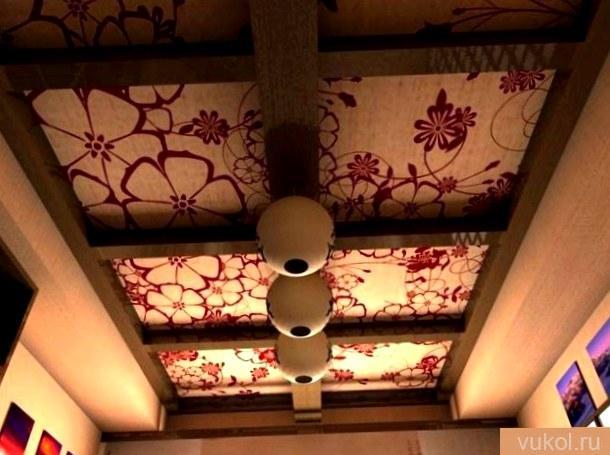 Как сделать в интерьере потолок