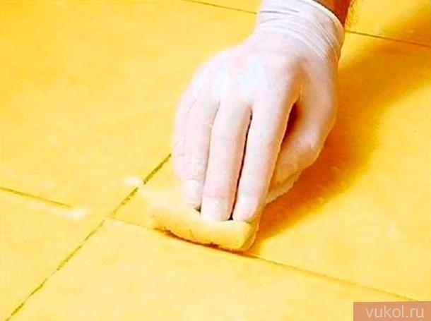 Как удалить затирку из швов