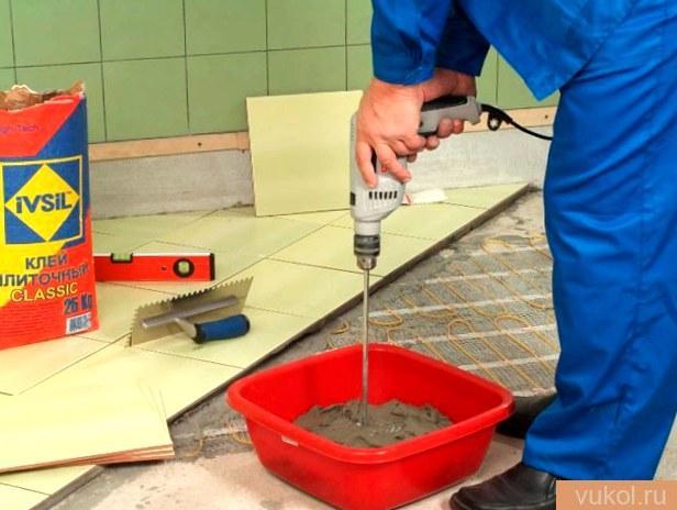 Клей для глиняной плитки