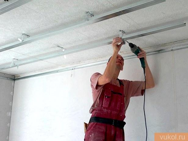 Полный ремонт потолка