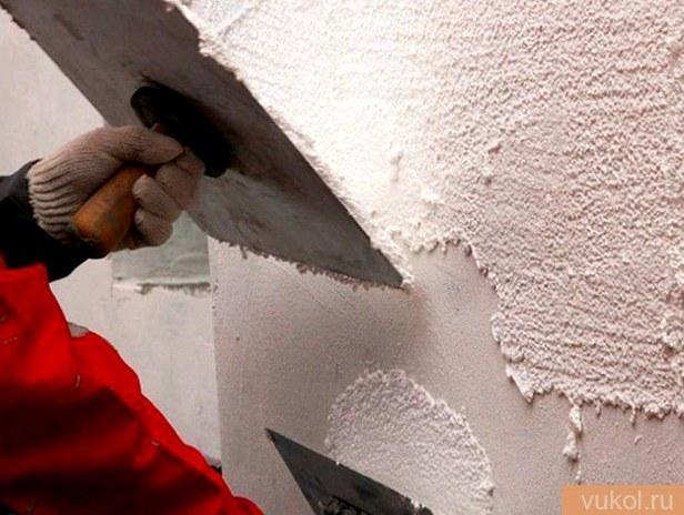 Способы штукатурки стенок