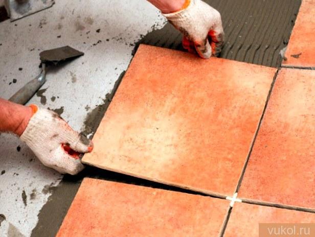 Плитка без швов: как класть плитку без швов