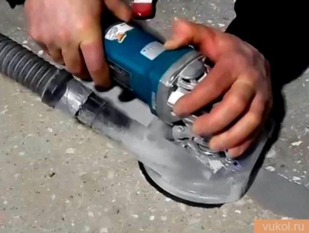 Шлифовка цементного пола