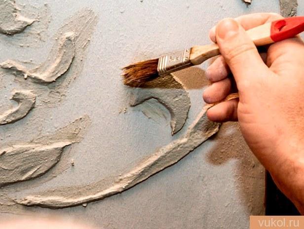 Шпаклюем стены из глины