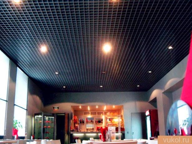 Разработка монтажа потолка