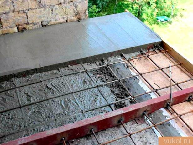 Устройство цементного пола