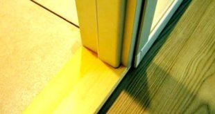 Установка порогов дверей