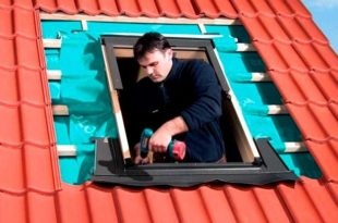 Мансардные окна Велюкс: аннотация по монтажу