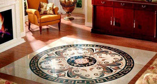 Мозаичные полы: укладка и процесс