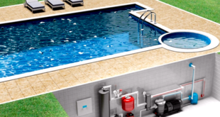 Обогрев воды в бассейне