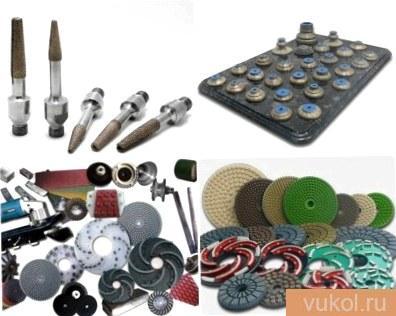 Инструмент для обработки мрамора