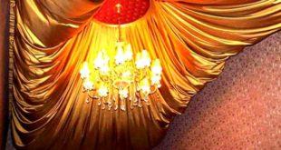 Тканевые декоративные потолки