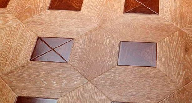 Укладка квадратного ламината