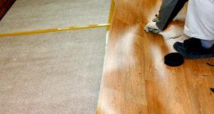 Укладка линолеума на древесный пол