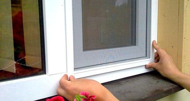 Сетка на пластмассовые окна
