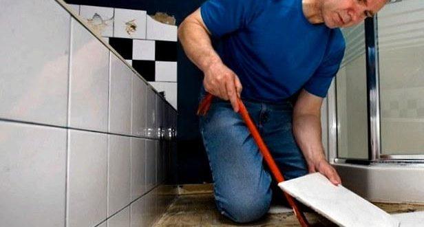 Все о ремонте плитки в ванной