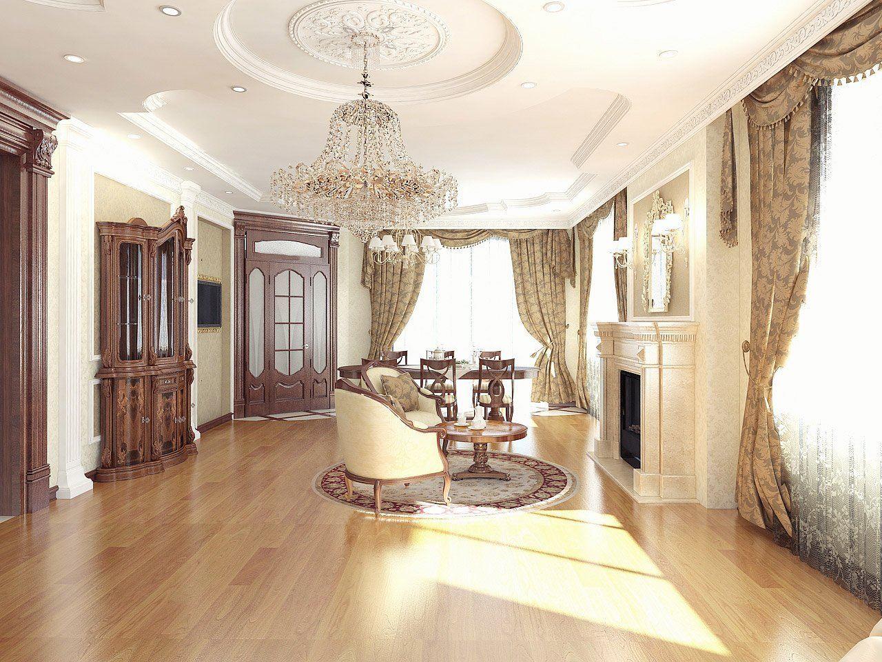 Выбор мебели для классического дома